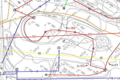 Utility Mapping Service